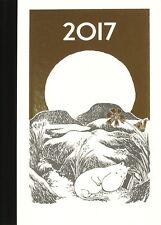 Moomin Wochenplaner 13 x 18 cm Kalender 2017 Hartschale