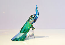 Swarovski 2013 SCS Elegant Peacock Colorful Bird 1142861 Brand New In Box