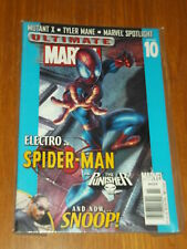 ULTIMATE MARVEL #10 SPIDERMAN ELECTRO PUNISHER SNOOP DOGG US MAGAZINE~