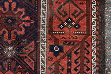 PRE 1900 ANTIQUE TRIBAL BALUCH RUG