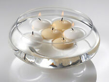 4cm White Floating Candle Room Table Centrepiece Pool Bath 4hr burn BUY QTY RQED