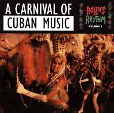 """""""A CARNIVAL OF CUBAN MUSIC"""" Routes Of Rhythm Volume 1 (CD 1990) **GREAT SHAPE**"""