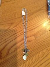 Lia Sophia Pistachio Necklace Genuine Freshwater Pearl & Mother-Of-Pearl