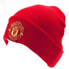 Manchester United FC Knit Hat/Beanie/Toque - Official Merchandise