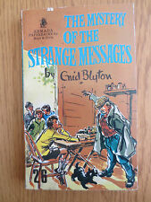 VINTAGE Enid Blyton Book MYSTERY OF THE STRANGE MESSAGES Five Find outers 1966