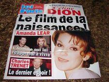 CELINE DION - RARE POSTER ICI PARIS DE JANVIER 2001 !!!