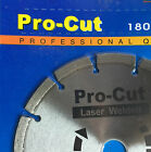 "7"" (180mm) X 25.4mm/22.2mm Diamnond Blade. Saw blade. Laser Welded Blade."