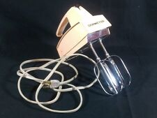 Vintage Peach Pink Dormeyer Hand Mixer 3 Speed HM 7-1 w/ 2 Beaters - Works!