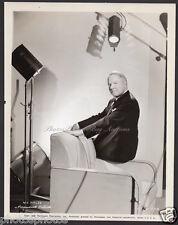 W. C. Fields 1938 VINTAGE ORIG PHOTO superb portrait, scarce