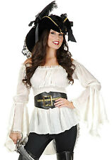 Pirate Costume BELT Cincher Black Angelica Penelope Caribbean Gold Cruz Medieval