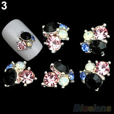3D 10X SPARKING NAIL ART STUDS RHINESTONE MANICURE CRYSTAL TIPS HOME DIY JEWELRY