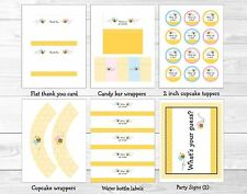 Lil Bumble Bee What Will It Bee? Printable Gender Reveal Party Package