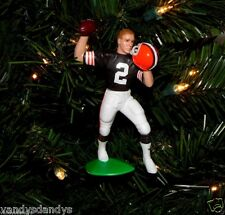 tim COUCH cleveland BROWNS football NFL xmas TREE ornament HOLIDAY vtg JERSEY #2
