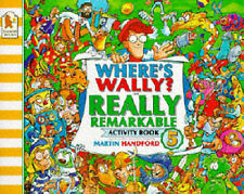 Martin Handford Where's Wally?: Really Remarkable Activity Book Very Good Book