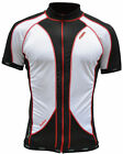 Lusso Carbon Short Sleeve Cycling Jersey - Black
