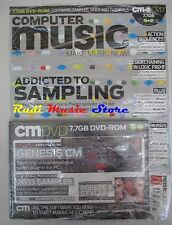 COMPUTER MUSIC Magazine SEALED 127 Lug 2008 DVD-Rom 7.7 GB Addicted to Samplig