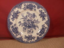 Johnson Brothers China Asiatic Pheasant Blue Dinner Plate 10""