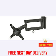 "AV Link 129.512UK Double Arm Adjustable Tv/Monitor Wall Mount Bracket 13"" To 40"""