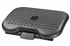 Halter F6031 Premium Ergonomic Foot Rest Adjustable Angle 3 Different Positions