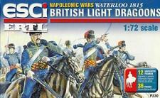 British LUCE DRAGONI-Waterloo 1815 (12 Figure) 1/72 ESCI ERTL RARA!