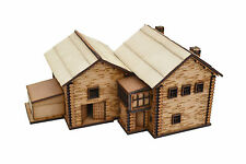 15MM WARGAMES TERRAIN SCENERY RUSSIAN FARM AND BARN BUILDINGS - FLAMES OF WAR