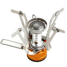 Mini Outdoor Camping Hiking Picnic Gas Cooking Food Water Stove Windproof WH