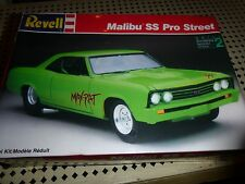 REVELL 1967 CHEVELLE PRO STREET MAX RAT Model Car Mountain KIT 1/25 FS