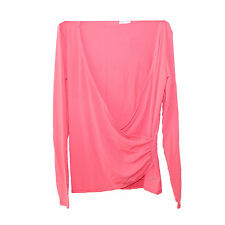 Ladies Top Size 16 Speedo Spa Wrap Gym Sports Salmon Shirt Work Out