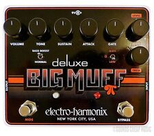 New! Electro-Harmonix Deluxe Big Muff Pi Distortion Sustain Pedal - In Stock!