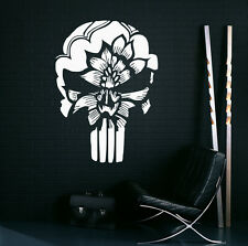 Punisher Wall Decal Vinyl Sticker Hero Marvel Comics Character Decor (6pn01r)