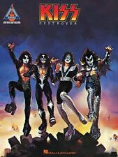 Kiss Destroyer Learn to Play Pop Rock Metal Guitar TAB Music Book