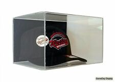 Wall Mount Hat Cap Display Case by GameDay Display Cear UV Protecting Acrylic