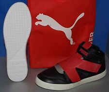 MENS PUMA EL REY FUTURE in colors BLACK / RIBBON RED IN BAG SIZE 10