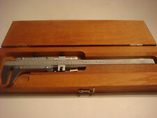 "Starrett 123 Series 8 1/2"" Vernier Caliper,Steel ,Inside/Outside Measurements"