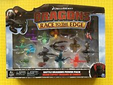 HOW TO TRAIN YOUR DRAGON RACE TO THE EDGE BATTLE DRAGONS POWER PACK 15 FIGURES