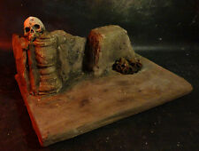 CUSTOM ONE OF A KIND UNIQUE 1:6 SKULL  RUINS DIORAMA FOR ACTION FIGURE DISPLAY