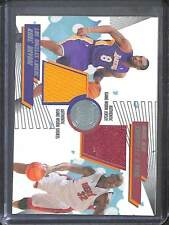 2005-06 Topps First Row Basketball Game Worn Shorts and Jersey #PTP-BO Kobe and