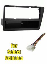 2002-05 Honda Civic SI Single Din Stereo Radio Install Dash Car Face Kit Combo
