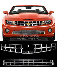 10-13 Chevy Camaro SS CHROME Snap On Grille Overlay Grill Cover Insert FREE SHIP