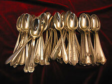50 Vintage Silverplate Tea Spoon Wedding Restaurant Craft Flatware Lot MONO