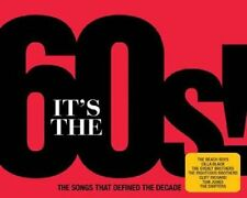 IT'S THE 60s 3 CD SET VARIOUS ARTISTS (December 2nd 2016)