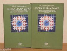 Storia di una Banca - V.Castronuovo - Prima ED. Einaudi 1983 - Costume e società