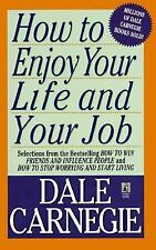HOW TO ENJOY YOUR LIFE AND YOUR JOB paperback by Dale Carnegie *FREE SHIPPING*