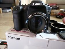 Canon EOS 40D 10.1 MP Digital SLR   50mm 1.8 Len - Lower shutter count only 8921