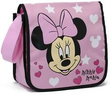 DISNEY MINNIE MOUSE GIRL MESSENGER COURIER DESPATCH SHOULDER SCHOOL BAG PINK BOW