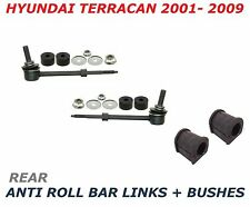 FOR HYUNDAI TERRACAN REAR ANTIROLL STABILISER DROP LINK LINKS BAR D BUSH BUSHES