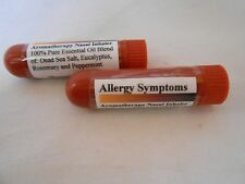 Allergy Symptoms Essential Oils w/Dead Sea Aromatherapy Nasal Inhaler