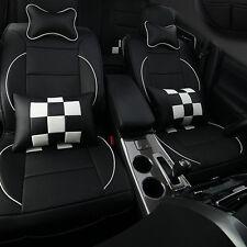 10pcs Full Set PU Leather Car Seat Cover Cushion For Toyota Camry Corolla RAV4