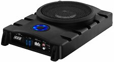 "Planet Audio P82UAW Planet 8"" Low Profile Subwoofer With 2ch Amp Output Remote"
