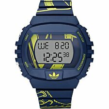 New Adidas Men NYC Digital Print Chronograph Oversize Watch 50mm x 45mm ADH6106